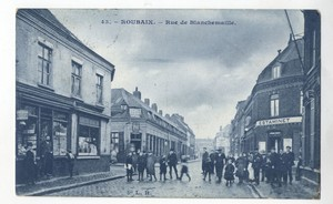 Rue Blanchemaille (photo Médiathèque de Roubaix)