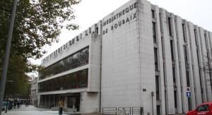 La médiathèque de Roubaix (photo Nord Eclair)