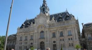 Hôtel de ville de Roubaix (photo Nord Eclair)