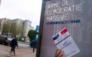 Campagne de la municipalité. Image RTL
