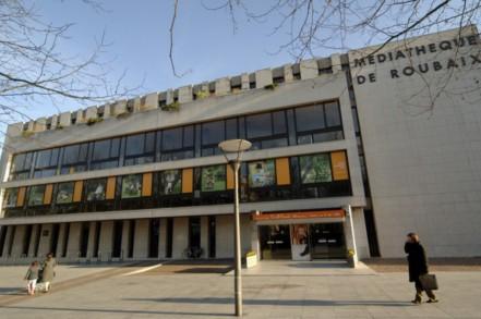 facade mediathèque