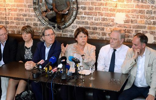 Conférence de presse de Martine Aubry du 18 juillet 2014