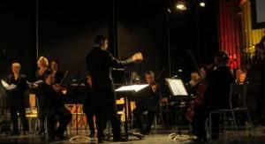 Le concert inaugural en novembre 2013 (photo Nord Eclair)