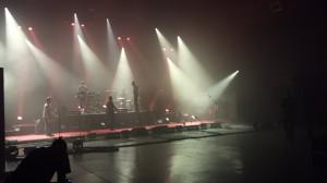Skip the use, en répétitions dans la grande salle de concert