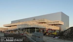 Le nouveau bâtiment des Archives Nationales à Pierrefitte (photo Archiguide)