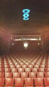L'installation 888 de Nicolas Tourte dans l'Auditorium