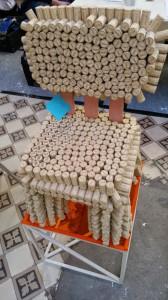 Du mobilier de recyclage à la Braderie de l'Art...