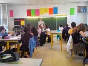 Visite école Montaigne