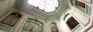 L'intérieur rénové de l'Ecole de Natation qui accueille l'IMA (photo ville de Tourcoing)