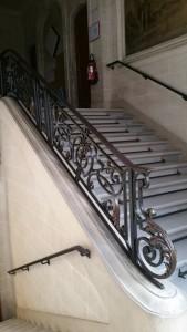 L'escalier de l'IFSI