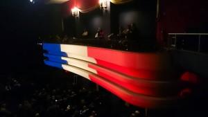 Les balcons du Colisée, version tricolore...