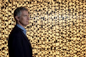 Didier Fusillier, directeur de la Maison des Arts de Créteil, pose dans son établissement. Créteil le 15/03/2012 Photo François Bouchon / Le Figaro