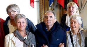 la dernière apparition publique de Jean-Pierre Rousselle (photo Nord Eclair)
