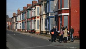 Visite à Manchester, qui a lancé un programme de maisons à 1 £