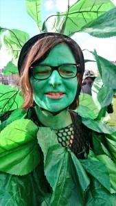 Anne-Sophie, le jour de la Garden Pride