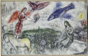 Chagall Marc (1887-1985). Céret, musée d'Art Moderne. AM1988-93.