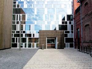 L'entrée du Conservatoire de Roubaix  (photo Empreinte paysage)