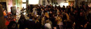 la foule se presse au concert du Non Lieu (photo Non Lieu)